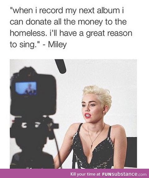 Can people stop hating on Miley now?