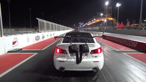 Omg this car literally flies off the track in a drag race