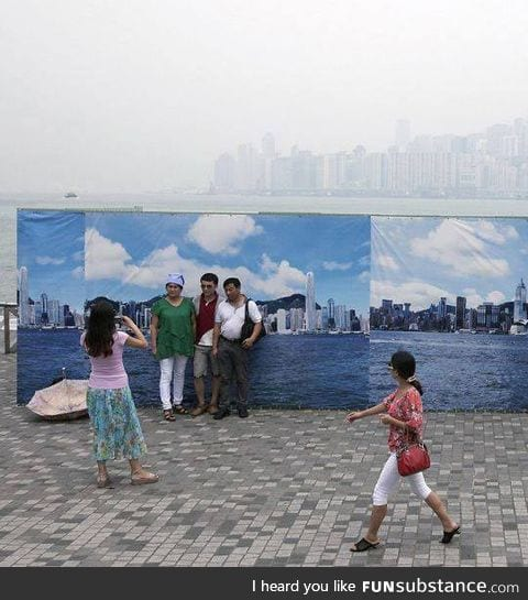 Tourism vs. Pollution in china