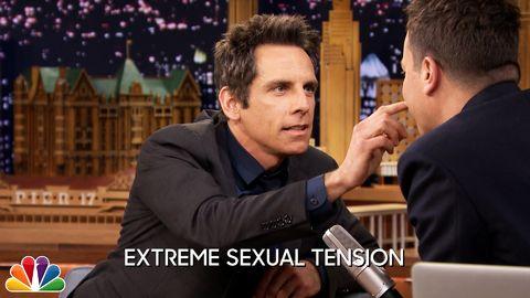 Ben Stiller shows off his acting skills on Jimmy Fallon