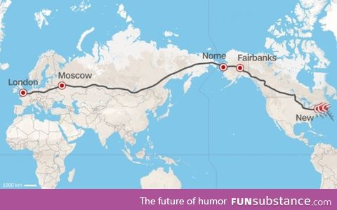 Russia proposes world's greatest superhighway