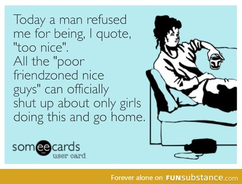 It happens to us too! To the unattractive ones, anyway.
