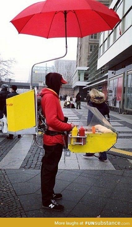 No Budget For an Actual Hot Dog Cart?