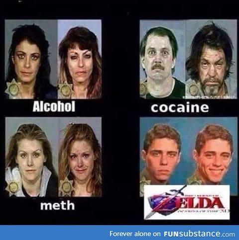 Don't do drugs - Do Zelda