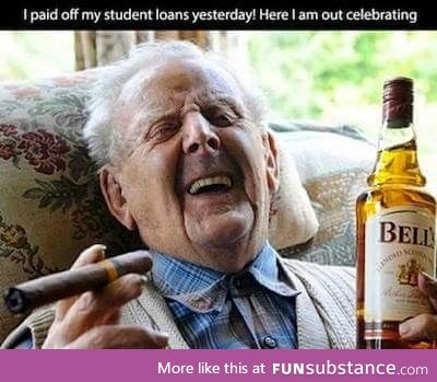 Finally paid off student loans