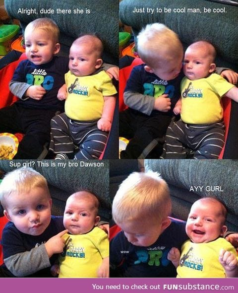 Showing some brother love