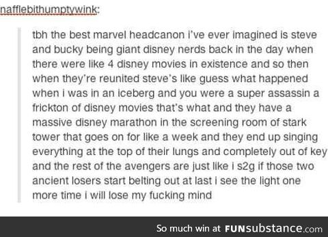 Honestly I can totally see this