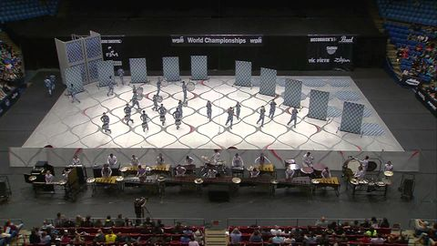 this is the drumline at the hs I will be attending in hs, they got first in wgi scholastic