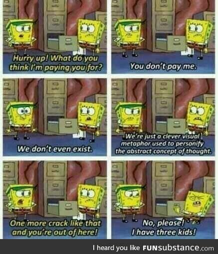 Gotta love Bob Sponge