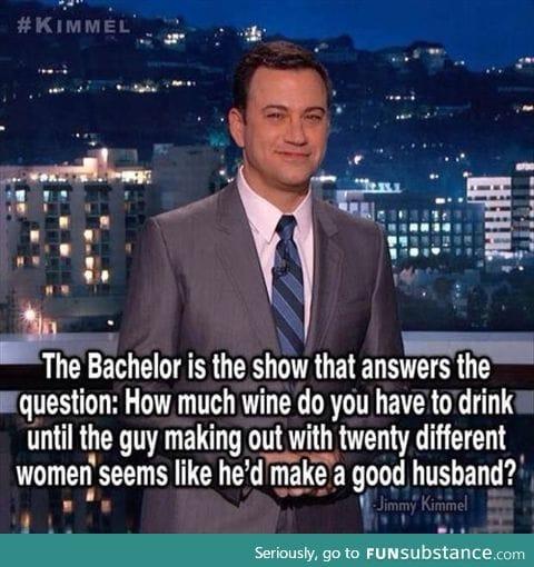 Jimmy Kimmel on 'The Bachelor'