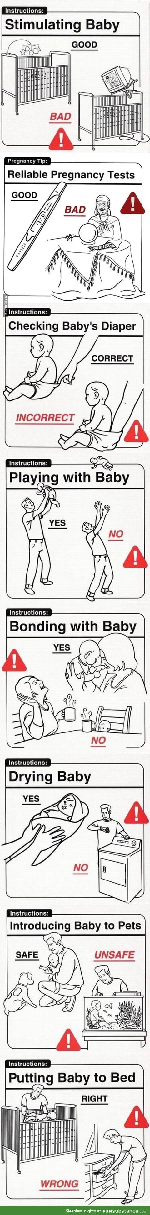 Parenting tips for all you current/future parents out there...