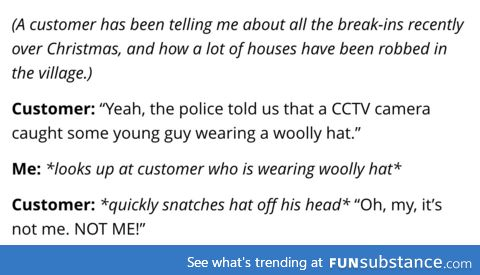 Hats off to their detective skills