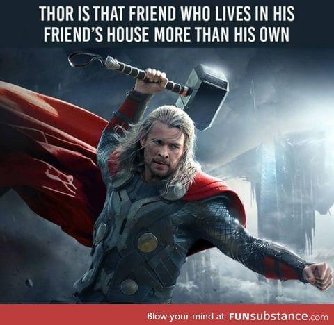 Thor, go home