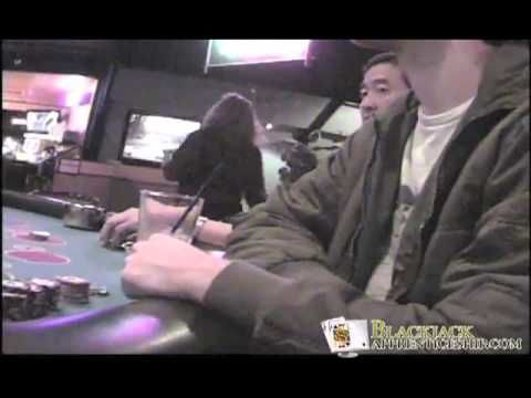 Casino pit boss catches blackjack card counter