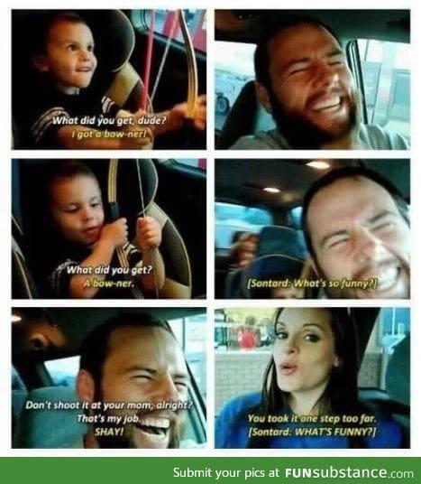 Dad joke win
