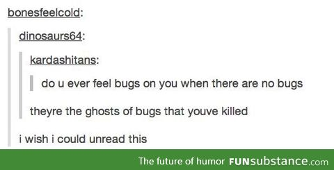Ghosts of Bugs