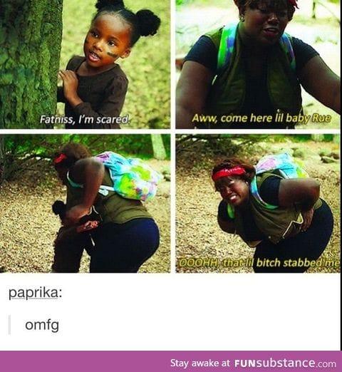 Katniss Everdeen? More like Fatniss Evereatin