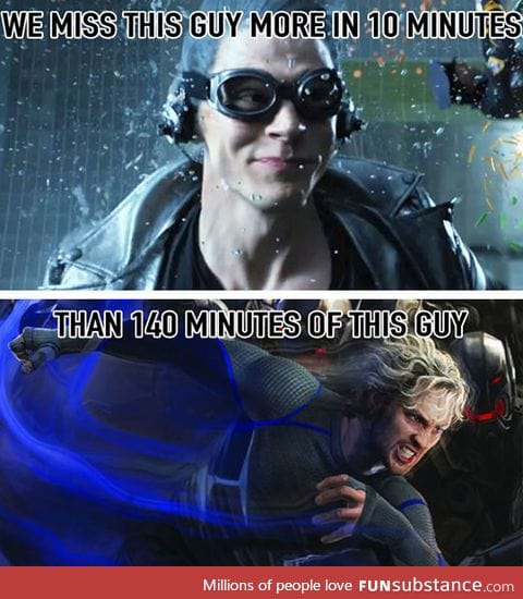 Old quicksilver is better