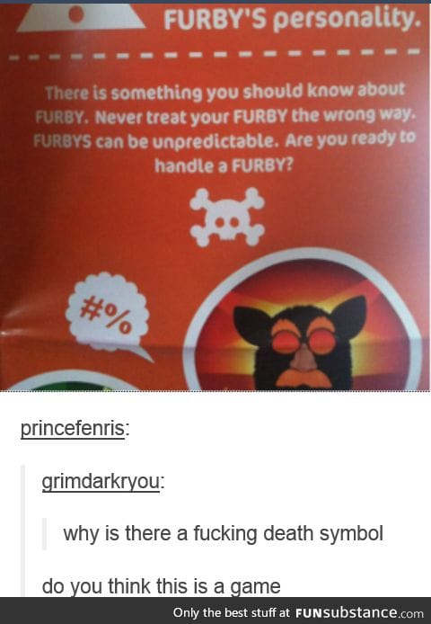 The truth behind Furbies