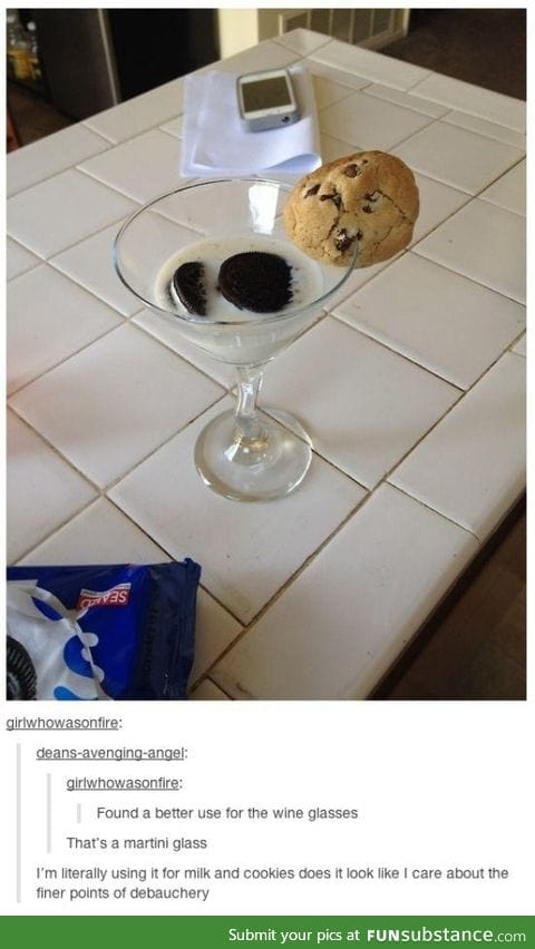 Better use for wine glasses