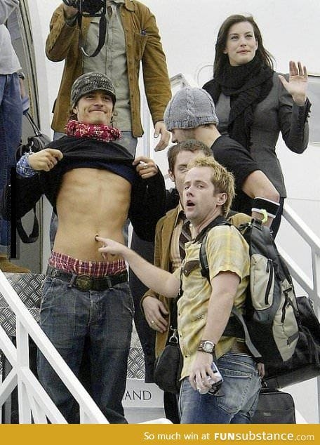 Hands down the best picture of the lord of the rings cast
