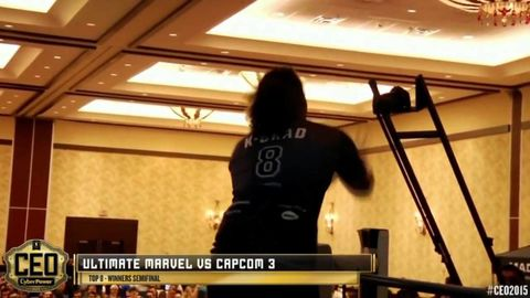 Competitive Gamer made his most dramatic entrance