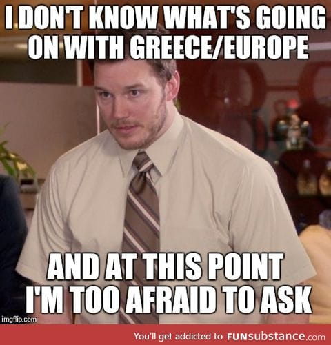 On the Greece thing