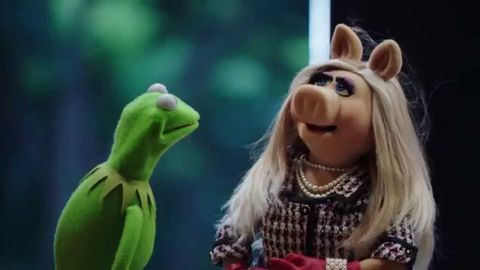 "The muppets are making a show like, ""the office"""