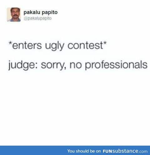 Ugly contest