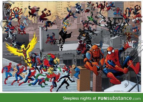 Almost all spidermen
