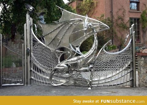The most awesome gate Ive