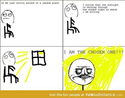 Me as a kid: