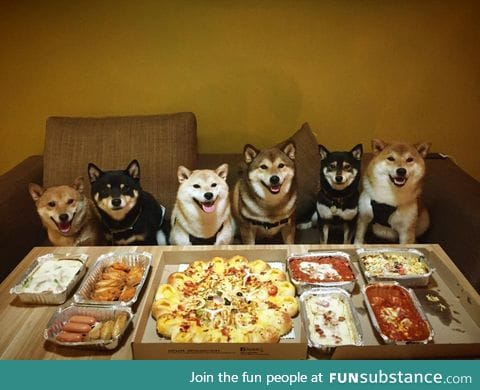Such party much food