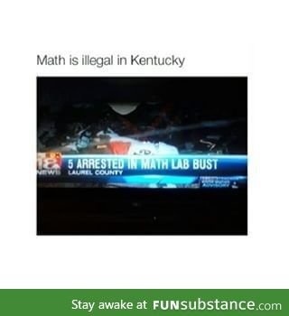 Well, time to move to Kentucky
