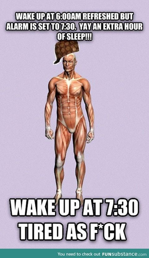 Why does the human body do this?