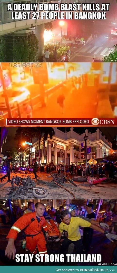 Deadly bomb hits Thailand's capital Bangkok and kills 27 people