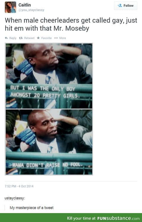 Moseby at his Finest