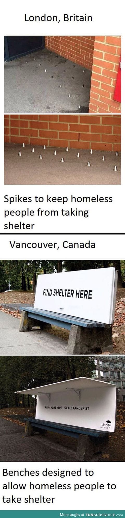 Difference between Canada and Britain