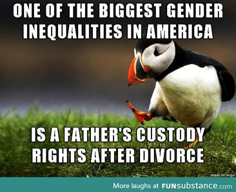 A very common gender inequality that rarely makes headlines