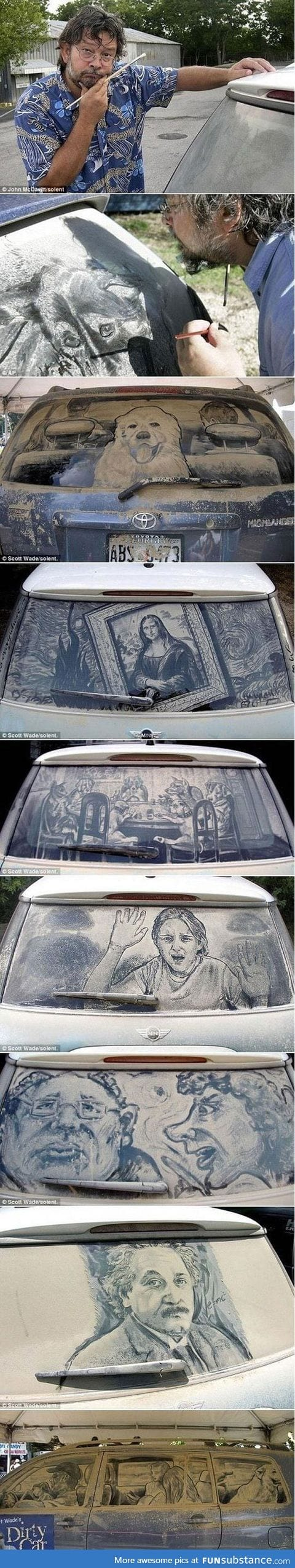 Best thing to do to a dirty car window