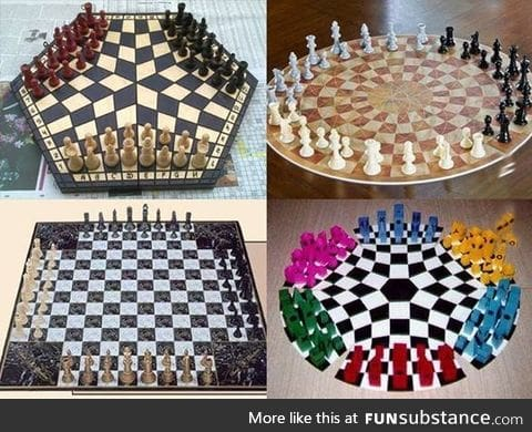 So you're telling me chess is a two players game?