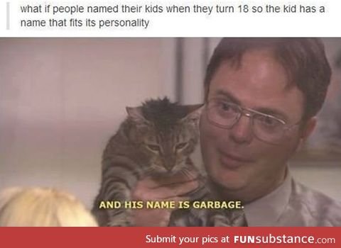 Naming Kids at Age 18