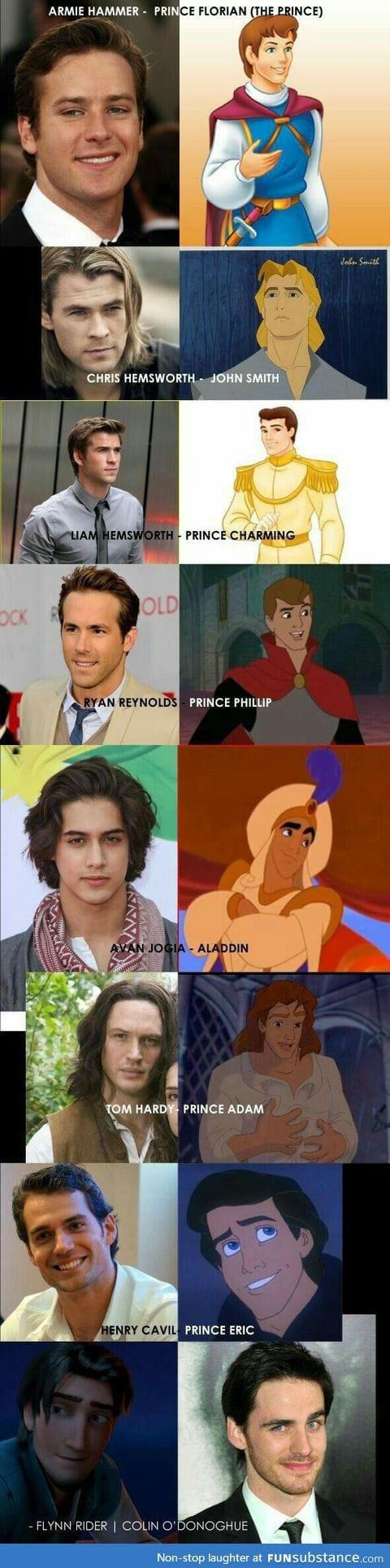 Everyone posting casts for Disney Princesses, so now I'm posting a cast for Disney