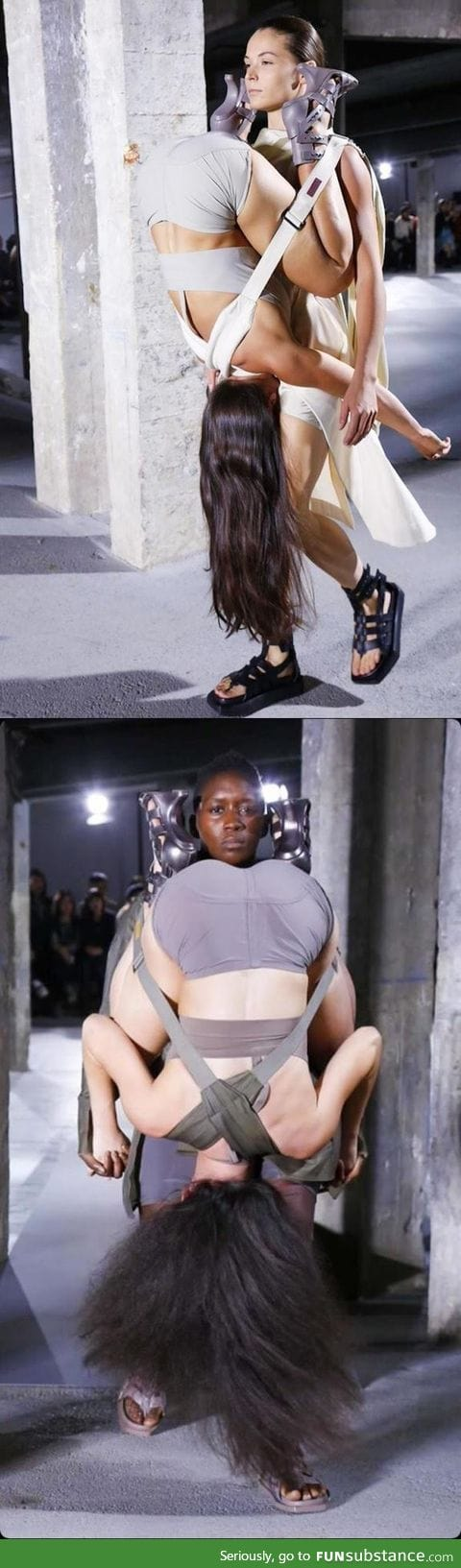"""""""It's fashion - you wouldn't understand."""" ... From today's"""