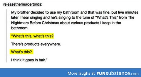 Bathroom tune