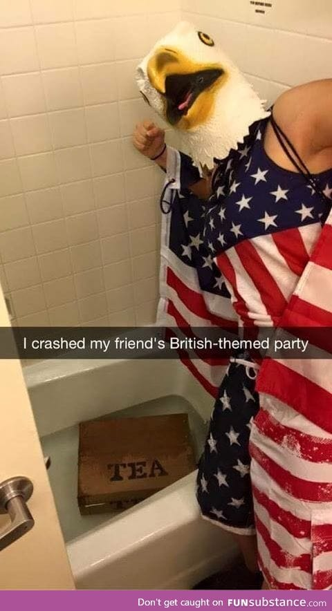 Crashing British parties since 1776