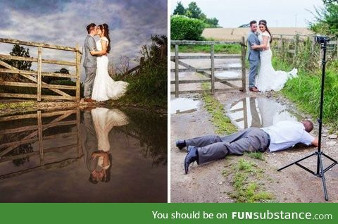 How to shoot a wedding pic