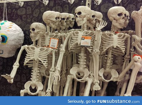 Judgemental skeletons are judgemental