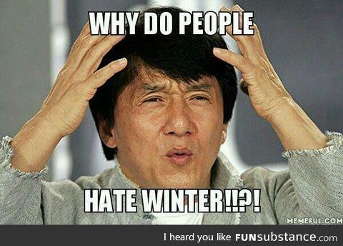 Winter is love