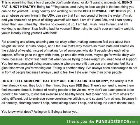 Here's my rant about the weight subject.
